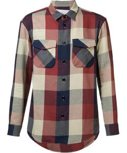 Julien David | Flap Pocket Shirt Large Cotton