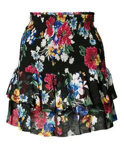 Piamita | Ruffled Skirt Medium Silk