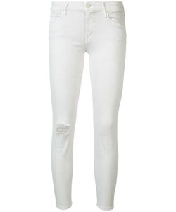 Mother   Distressed Skinny Jeans Size 28