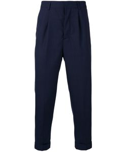 AMI Alexandre Mattiussi | Tapered Cropped Trousers