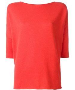 Lamberto Losani | Three-Quarters Sleeve Jumper Small Cashmere