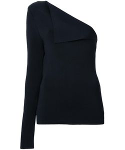 Dion Lee | Axis One Shouldered Top 12 Nylon/Viscose