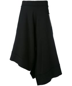 Y's | Asymmetric Cropped Trousers Women