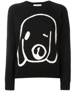 Peter Jensen | Dog Intarsia Jumper Large Cotton