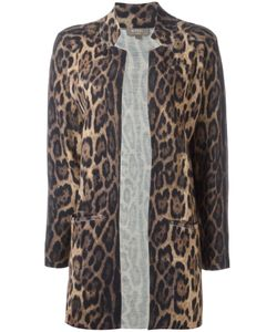 N.Peal | Leopard-Print Jacket Size Small