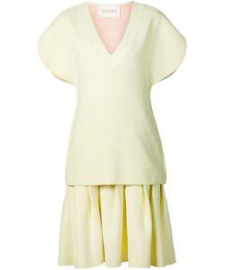 Xiao Li | Pleated Layered Dress