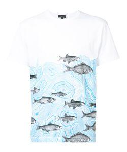 Comme Des Garçons Homme Plus   Fish Print T-Shirt Size Small