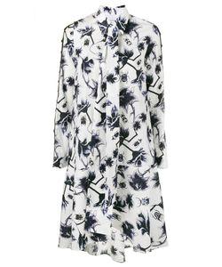 Osman | Ladder Sleeve Print Dress
