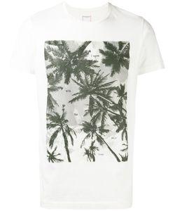 Htc Hollywood Trading Company   Palm Tree Print T-Shirt Size Medium