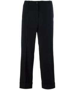 Alberto Biani   Straight Cropped Trousers Size 44