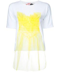 Jenny Fax   Tulle Appliqué T-Shirt
