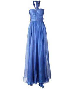 Maria Lucia Hohan   Halterneck Flared Gown