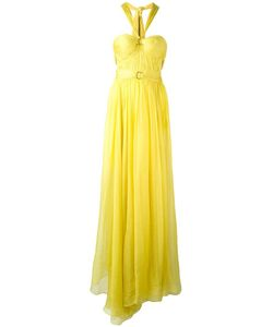 Maria Lucia Hohan   Halterneck Flared Gown 38