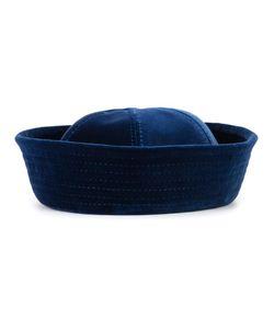 Valas | Velvet Panelled Hat