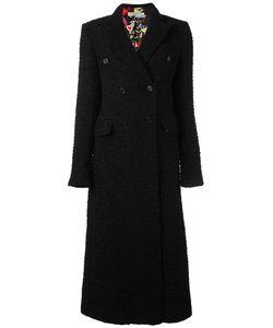 Piccione.Piccione | Piccione. Piccione Long Tweed Coat 42 Polyester/Polyamide/Virgin Wool/Alpaca
