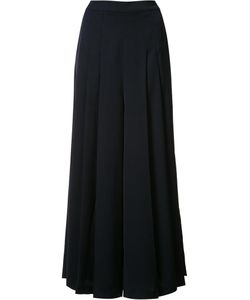 Just Female | Pleated Palazzo Pants Large