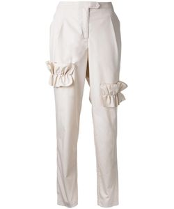 Paskal | Ruffled Trim Trousers Medium