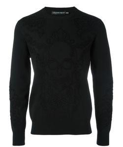 Alexander McQueen | Stitched Skull Jumper Large Wool/Spandex/Elastane/Polyamide