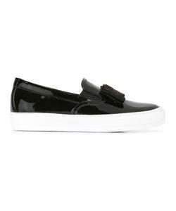 Salvatore Ferragamo | Vara Bow Slip-On Sneakers 5.5 Patent