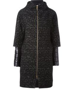 Herno   Layered Sleeve Padded Coat