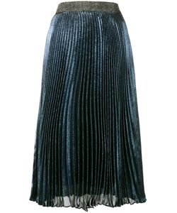 Christopher Kane | Pleated Lamé Skirt Size 46