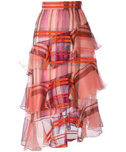 Daizy Shely | Tartan Ruffle Skirt