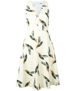 Cacharel | Pineapple Print Flared Dress 34