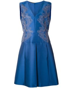 Alberta Ferretti | Embroidered Sleeveless Dress