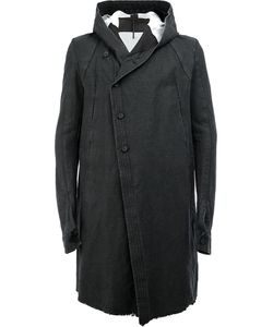 Masnada | Dislocated Fastening Hooded Coat 48