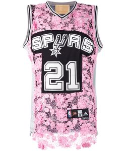 Night Market | Spurs 21 Long Lace Front Tank Top