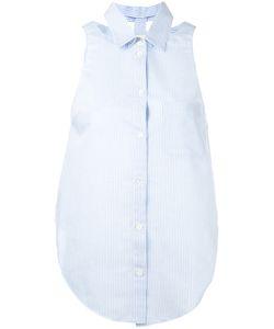 Nanushka | Striped Sleeveless Shirt M