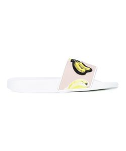 MSGM | Banana Print Slippers 39