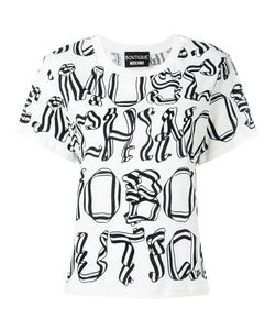 Boutique Moschino | Printed Text T-Shirt 42