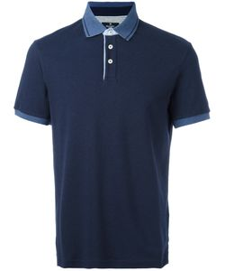 Hackett | Contrast Collar Polo Shirt Size Large