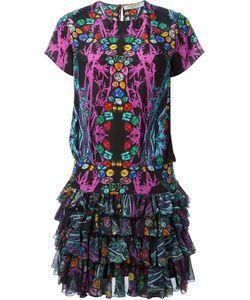 Piccione.Piccione | Piccione. Piccione Jewel Print Ruffle Dress