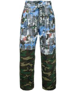Taakk   Camouflage Straight Trousers 2