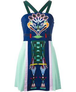 Mary Katrantzou X Adidas Originals | Sport Print Pleated Dress