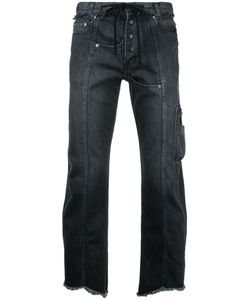 Christian Dada | Raw Hem Cropped Jeans Size 46
