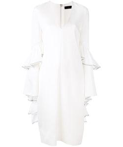 Ellery | Elongated Ruffled Sleeves Dress