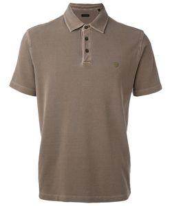 Z Zegna | Embroidered Logo Polo Shirt