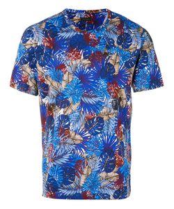 Z Zegna | Leaf Print T-Shirt