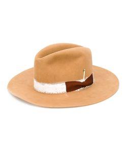 Nick Fouquet | Bow Detail Hat Size 57 Rabbit