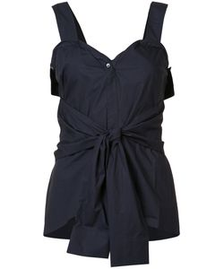 Derek Lam 10 Crosby | Front Knot Top Size 4