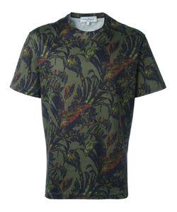 Salvatore Ferragamo   Foliage Print T-Shirt Small Cotton