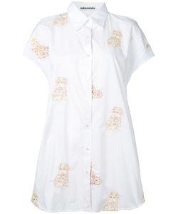 Mikio Sakabe   Embroidered Cat Shirt