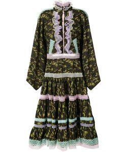 Natasha Zinko | Lace Trim Camouflage Dress