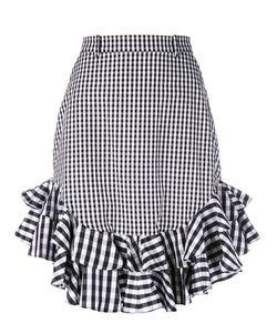 House Of Holland | Gingham Midi Skirt