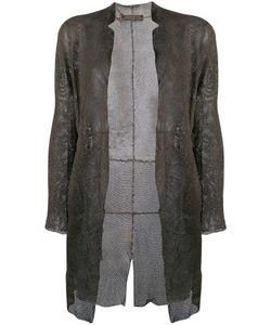 Salvatore Santoro | Mesh Detail Coat
