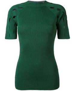 Nomia | Ribbed Knit T-Shirt L