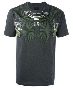 Les Hommes   Geometric Chest Print T-Shirt Xl Cotton